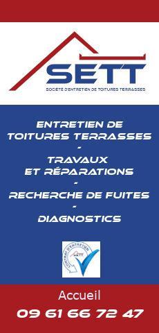 société SETT - Entretien de toiture terrasse - 44 Loire Atlantique